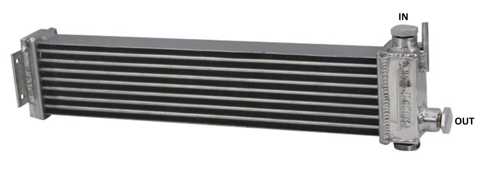 medium resolution of  the large mazda rx7 second generation fc 1986 92 oil cooler is a popular retrofit for a volvo it has a built in thermostat that begins opening at
