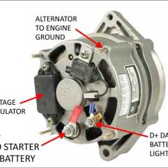 12 Volt One Wire Alternator Wiring Diagram Home Light Dave S Volvo Page Adjustable Voltage Regulators