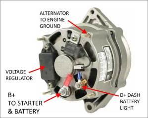 Delco Alternator Internal Diagram   Wiring Diagram And