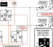 1993 volvo 940 wiring diagram 2009 smart car radio electric cooling fan conversions click here for my 8 page collection of relay diagrams you can build yourself pdf