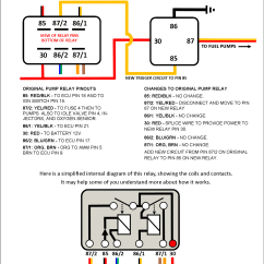 Wiring Diagram For An Electric Fuel Pump And Relay Opel Vectra C Heat Carrier Parts