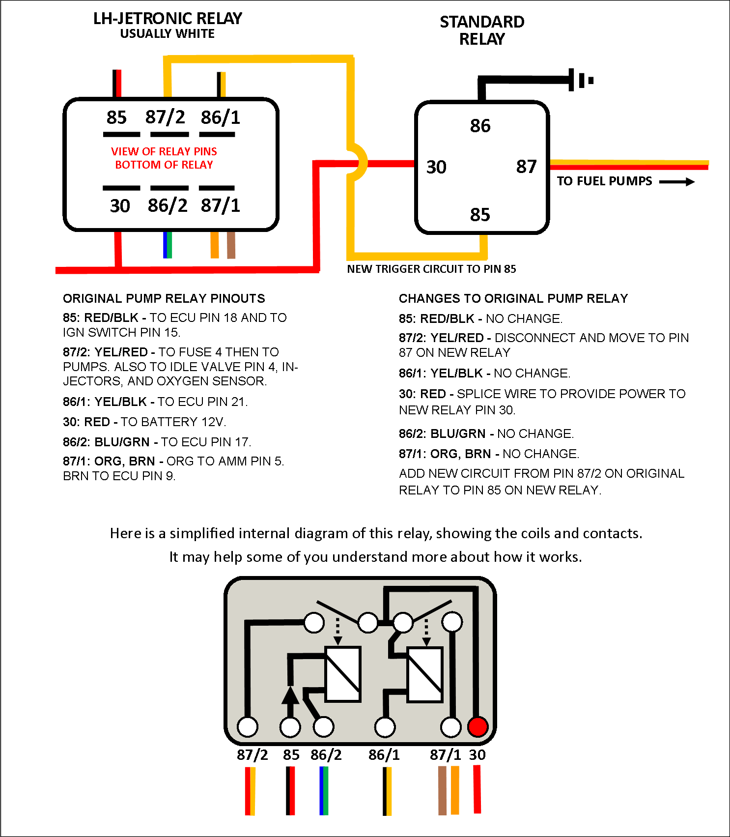hight resolution of volvo fuel pump relay mods volvo 740 fuel pump relay wiring diagram