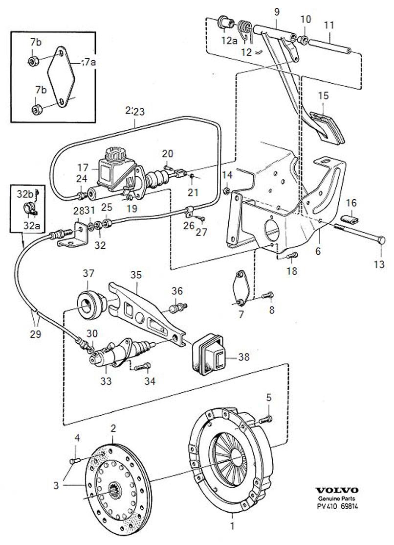 Volvo 240 Hydraulic Clutch Info.