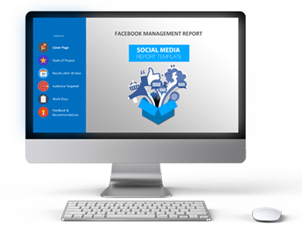 The social media report template is downloadable in google docs, google slides, microsoft word, microsoft powerpoint, and pdf. Social Media Report Template 246 Designs Inc