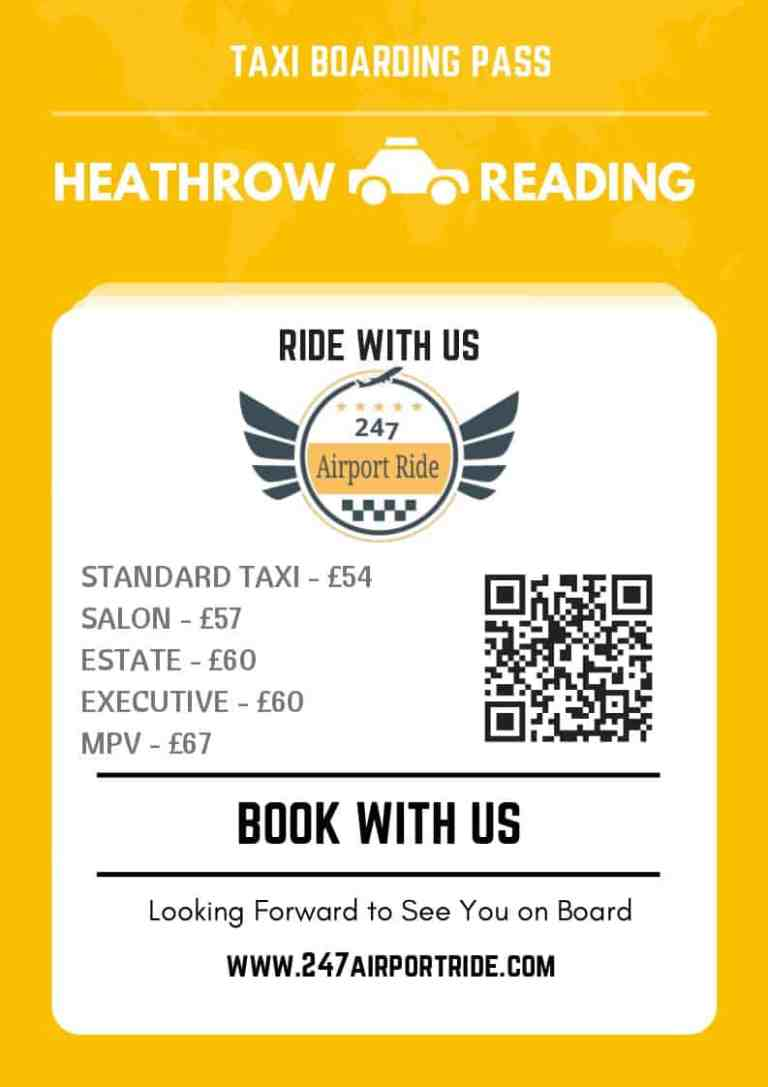 heathrow to reading price