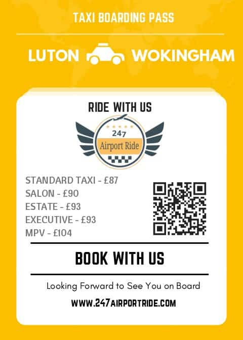 luton to wokingham price