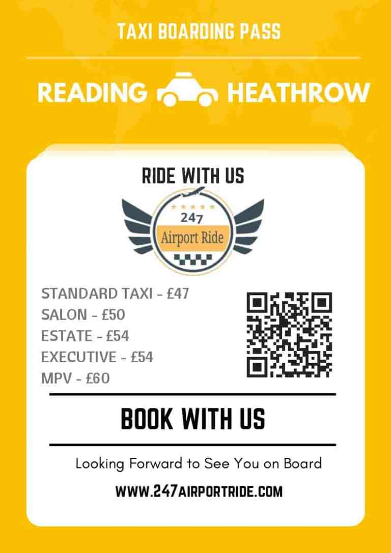 reading to heathrow price