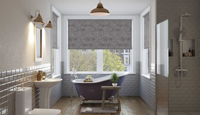 grey kitchen blinds lowes sinks waterproof bathroom 247blinds co uk roller