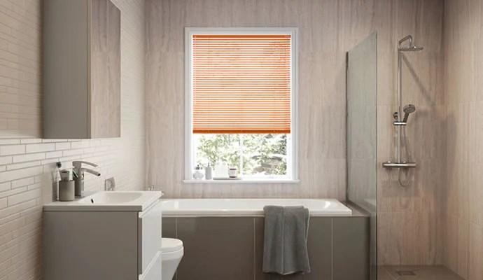 Waterproof Bathroom Blinds  247Blindscouk