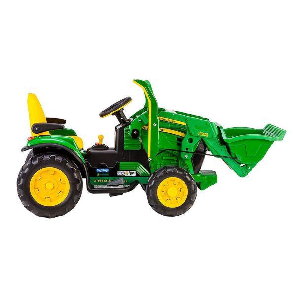 John Deere 12v Electric Farm Loader Tractor Digger Car