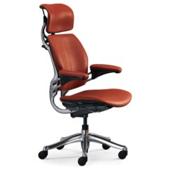 Freedom Task Chair With Headrest Tot Spot Lounge Humanscale Fabric