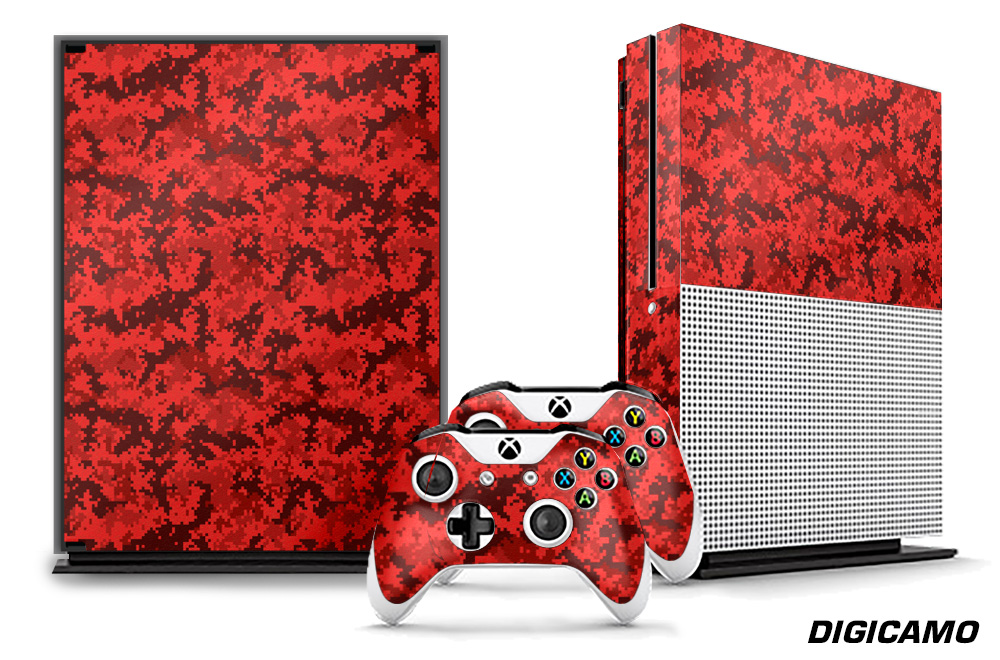 Microsoft Xbox ONE S Custom 1 MOD Skin Decal Cover Sticker Graphic Upgrade