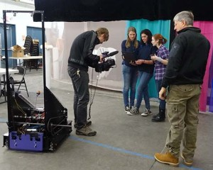 Camera crew.