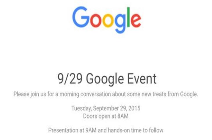 Google: Nexus-Geräte werden am 29. September vorgestellt