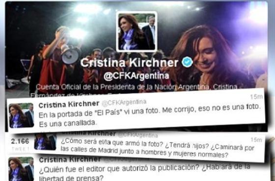 tuits CFK sobre Chávez
