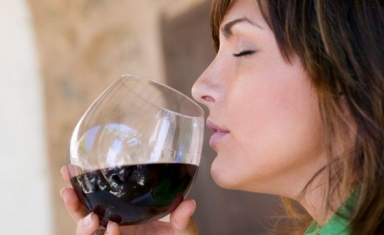 oler vino
