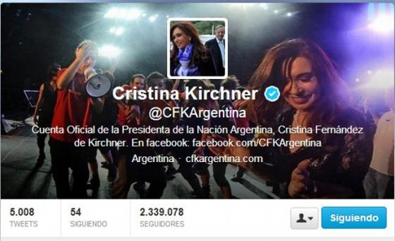 cristina twitter 2013