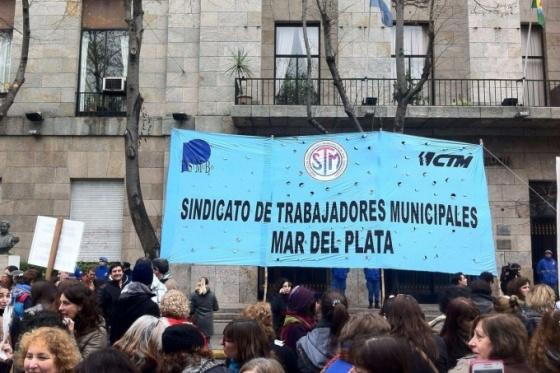 Municipales de Mar del Plata realizarán una nueva retención de tareas