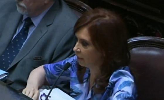 La reacción de Cristina Kirchner ante el anuncio de Macri