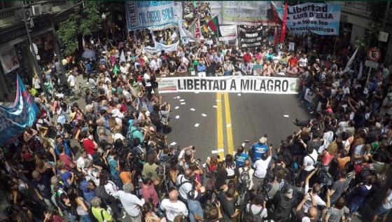 Sala responsabilizó a Macri por su detención
