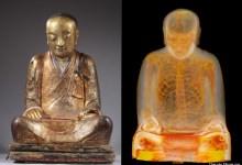 Photo of Scan Reveals Mummy Hidden Inside Buddha Statue