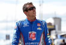 Photo of Professional IndyCar driver Justin Wilson dies