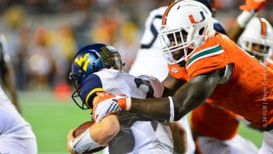 Photo of Miami gets a spark, and dominates Russell Athletic Bowl