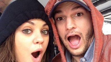 Photo of Mila Kunis welcomes son with Ashton Kutcher