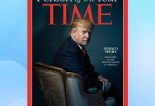 """Photo of Time names Trump """"Person of the Year"""""""