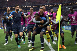 France Defeats Croatia 4-2 to take World Cup
