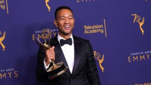 John Legend becomes first black man to earn EGOT status