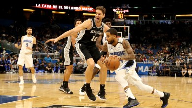 Photo of Orlando Magic finish preseason with 100-81 loss to San Antonio.