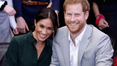 Photo of Meghan Markle and Prince Harry expecting first child