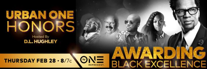 INAUGURAL URBAN ONE HONORS AWARDS TO AIR ON TV ONE FEBRUARY 28 AT 8P/7C