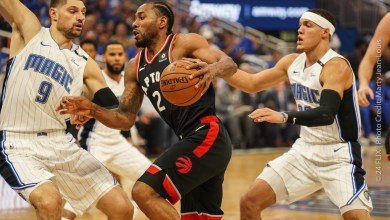 Photo of Raptors take game 4 from Magic, 107-85