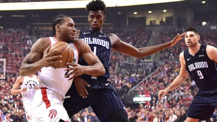 Raptors close out series with Magic 115-96