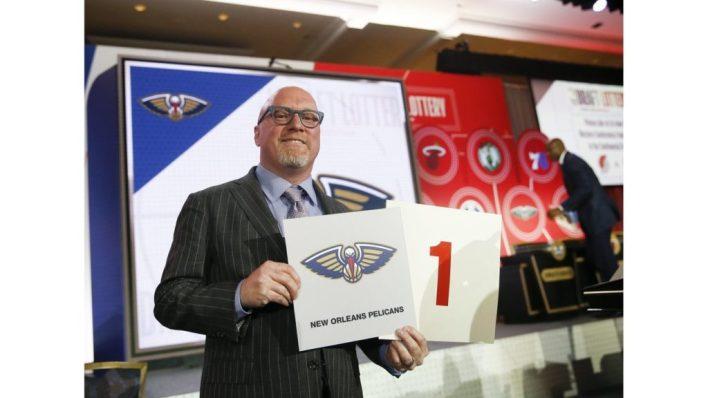NBA Draft Lottery 2019: Pelicans win Zion Williamson draw for No. 1 pick