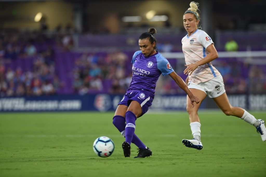 Houston beats a 9-player Pride 1-0 after return to action