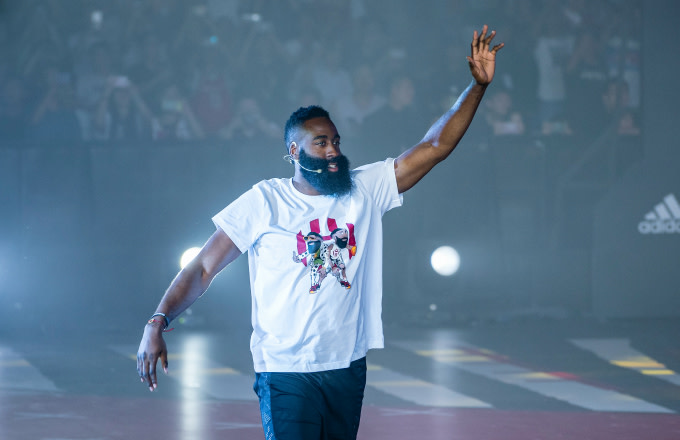 Rockets star James Harden gifts woman $10,000 while in Bahamas