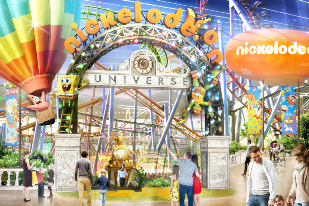 Nickelodeon Universe theme park opening at American Dream mall in NJ