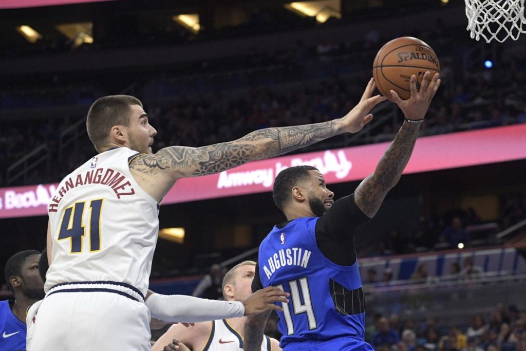 Magic fall to Nuggets 91-87. Work on offensive fixes for the road