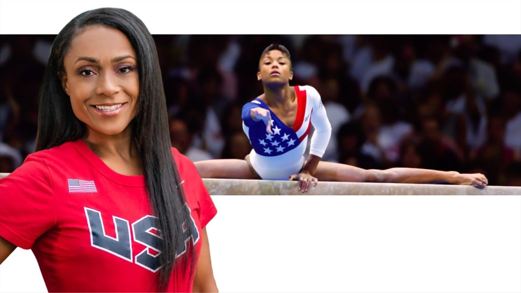 OLYMPIC GOLD MEDALIST DOMINIQUE DAWES OPENING HER OWN GYMNASTICS ACADEMY
