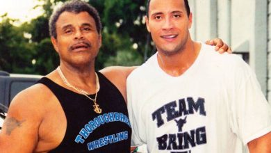 Photo of Rocky Johnson, father of Dwayne 'The Rock' Johnson, dead at 75