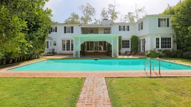 Photo of Ronald Reagan & Jane Wyman's home on Sale for 6.75 Million Dollars