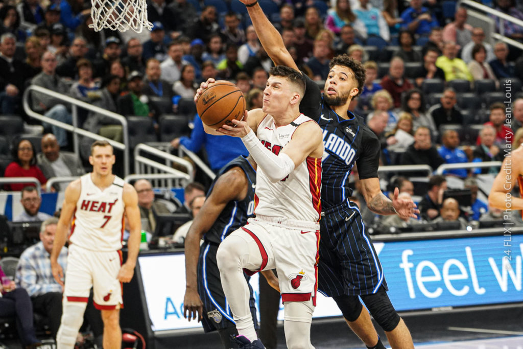 Miami Cruises Past Orlando in a Statement Game: 102-89