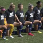 NWSL alters national anthem policy after mass demonstrations, will let players stay in locker room