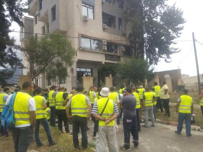 A Béjaïa, des travailleurs de Numilog poursuivent leur protestation pour la création d'une section syndicale
