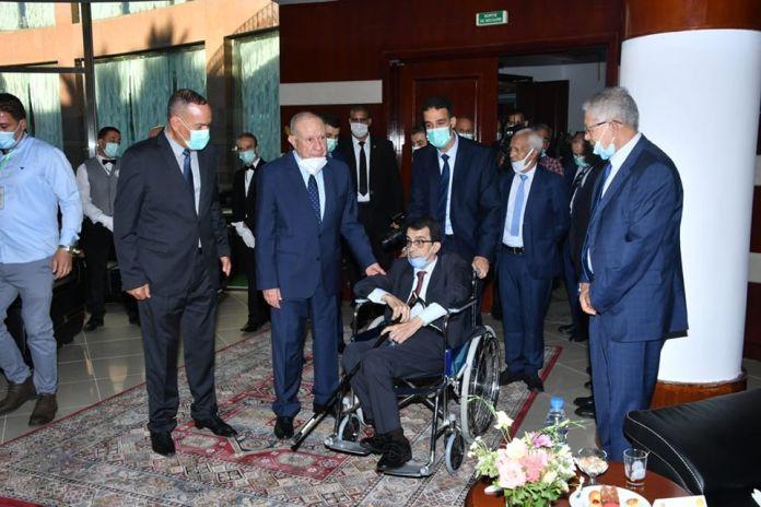 Le général à la retraite Hocine Benhadid invité à la réception du MDN