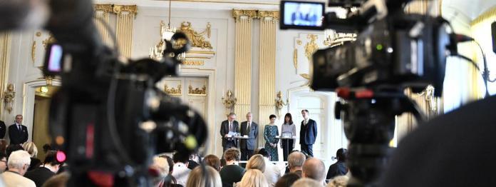 Annonce du Prix Nobel de littérature