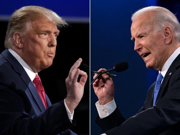 Débat Trump/Biden, un dernier round maîtrisé sans K.O. final
